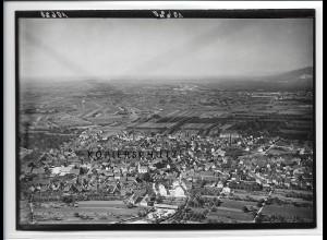 ZZ-4513/ Heidelberg - Kirchheim Foto seltenes Luftbild ca.1938 18 x 13 cm
