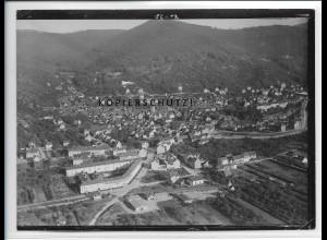 ZZ-4514/ Heidelberg Handschuhsheim Foto seltenes Luftbild ca.1938 18 x 13 cm