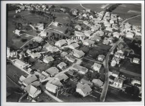 ZZ-4516/ Schwangau bei Füssen Foto seltenes Luftbild 1939 18 x 13 cm
