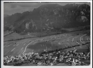 ZZ-4517/ Schwangau bei Füssen Foto seltenes Luftbild 1939 18 x 13 cm
