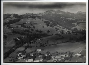 ZZ-4518/ Tiefenbach b. Oberstdorf Foto seltenes Luftbild 1939 18 x 13 cm