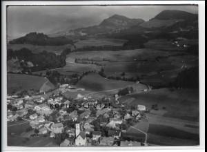 ZZ-4519/ Altstädten b. Sonthofen Foto seltenes Luftbild 1939 18 x 13 cm