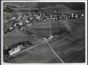ZZ-4520/ Altstädten b. Sonthofen Foto seltenes Luftbild 1939 18 x 13 cm