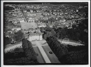 ZZ-4523/ Schwetzingen Foto seltenes Luftbild ca.1938 18 x 13 cm