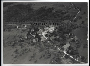 ZZ-4525/ Stocksberg b. Beilstein Foto seltenes Luftbild 1937 18 x 13 cm