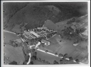 ZZ-4527/ Jettenbach Beilstein Arbeitsdienstlager Foto Luftbild ca.1938 18x13cm