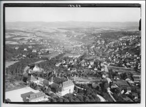 ZZ-4529/ Backnang Lehrerseminar Foto seltenes Luftbild 1937 18 x 13 cm