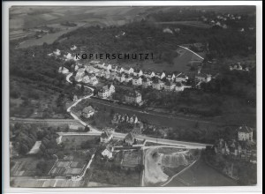 ZZ-4531/ Backnang Foto seltenes Luftbild 1937 18 x 13 cm