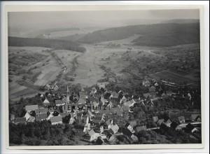 ZZ-4534/ Wimsheim Foto seltenes Luftbild ca.1938 18 x 13 cm