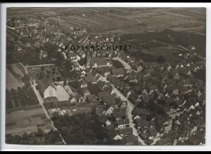 ZZ-4535/ Fellbach bei Stuttgart Foto seltenes Luftbild ca.1938 17 x 12 cm