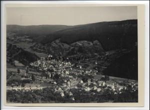 ZZ-4541/ Schönau Odenwald Foto seltenes Luftbild 1936 18 x 13 cm