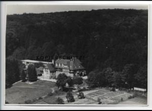 ZZ-4543/ Darsberg Neckarsteinach Erholungsheim Foto Luftbild 1935 17 x 12 cm