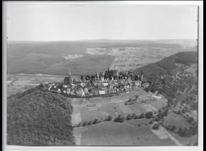 ZZ-4546/ Dilsberg b. Neckargemünd Foto seltenes Luftbild 1936 18 x 13 cm
