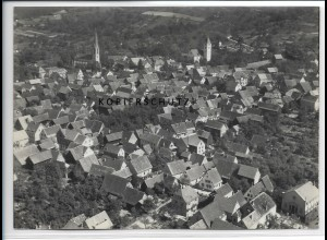 ZZ-4557/ Leutershausen Foto seltenes Luftbild ca. 1936 18 x 13 cm