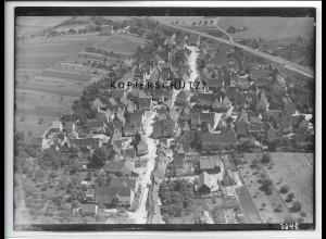 ZZ-5209/ Nufringen Foto seltenes Luftbild 18 x 13 cm ca.1938