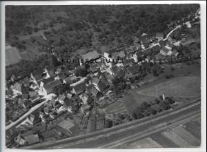 ZZ-4560/ Fornsbach b. Murrhardt Foto seltenes Luftbild 1938 18 x 13 cm