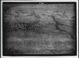 ZZ-4607/ Ludwigsburg - Ossweil Foto seltenes Luftbild ca.1938 18 x 13 cm