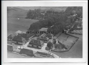 ZZ-4606/ Monrepos Wirtschaftsgebäude Foto seltenes Luftbild 1934 18 x 13 cm