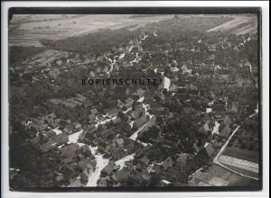 ZZ-4603/ Rommelshausen b. Kernen Remstal Foto seltenes Luftbild 1936 18 x 13 cm
