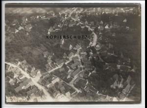 ZZ-4602/ Rommelshausen b. Kernen Remstal Foto seltenes Luftbild 1936 18 x 13 cm