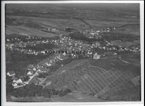 ZZ-4600/ Stetten b. Kernen im Remstal Foto seltenes Luftbild ca. 1935 18 x 13 cm