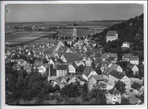 ZZ-4598/ Herrenberg Foto seltenes Luftbild 1935 18 x 13 cm