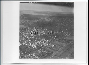 ZZ-4597/ Herrenberg Foto seltenes Luftbild 1935 18 x 13 cm