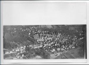 ZZ-4596/ Herrenberg Foto seltenes Luftbild 1935 18 x 13 cm