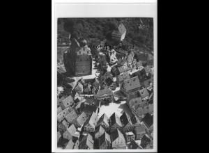 ZZ-4595/ Herrenberg Foto seltenes Luftbild 1937 18 x 13 cm