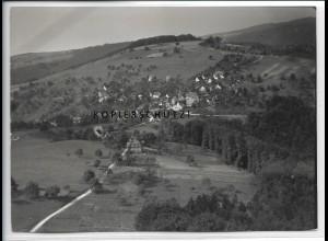ZZ-4589/ Jux - Spiegelberg Foto seltenes Luftbild 1937 18 x 13 cm