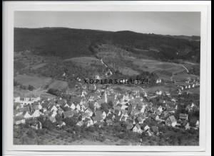 ZZ-4584/ Sulzbach a.d. Murr Foto seltenes Luftbild 1936 18 x 13 cm