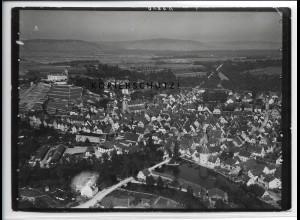 ZZ-4582/ Vaihingen Enz Foto seltenes Luftbild 1935 18 x 13 cm