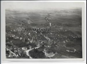 ZZ-4576/ Ditzingen bei Stuttgart Foto seltenes Luftbild ca.1936 18 x 13 cm