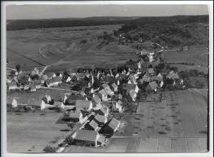 ZZ-4573/ Rohrau bei Böblingen Foto seltenes Luftbild 1936 18 x 13 cm