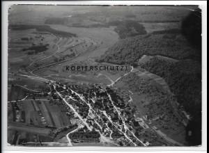 ZZ-4572/ Döffingen b. Grafenau Foto seltenes Luftbild 1935 18 x 13 cm