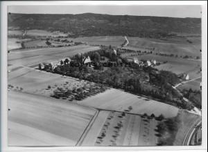 ZZ-4571/ Gültstein b. Herrenberg Foto seltenes Luftbild ca.1938 18 x 13 cm
