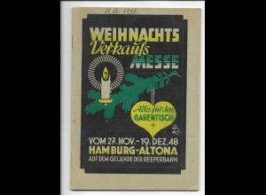 C4239/ Hamburg Altona Weihnachts-Verkaufs-Messe 1948 32 Seiten