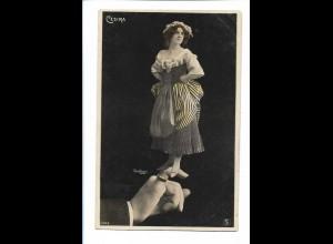 V1623/ Cesira - Reutlinger Fotomontage AK Hand 1907