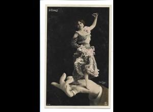 V1624/ D`Esbly - Reutlinger Fotomontage AK Hand ca.1908
