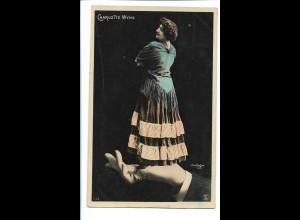 V1811/ Charlotte Wyns - Fotomontage Reutlinger Foto AK 1908