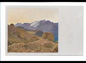 V1625/ Prof. Miethe AK Dolomiten Langkofelscharte Südtirol Italien ca.1905