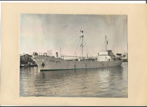 C4270/ Frachter Handelsschiff Consul Horn Foto 21,5 x 17 cm ca.1958