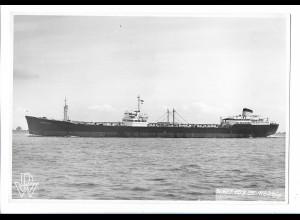 C4266/ Frachter Handelsschiff Lagnunvillas Deutsche Werft Foto 23 x 15 cm