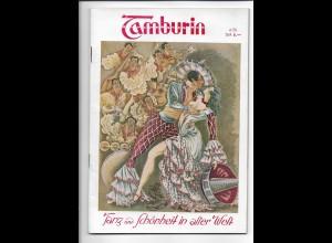 C4260/ Tamburin Tanz und Schönheit Heft 6/1950 Erotik ,viele Abb. 50 Seiten