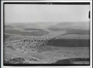 ZZ-4682/ Onstmettingen b. Albstadt Foto seltenes Luftbild 1936 18 x 13 cm