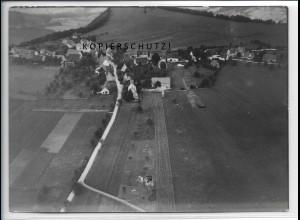 ZZ-4683/ Burgfelden b. Albstadt Foto seltenes Luftbild 1938 18 x 13 cm