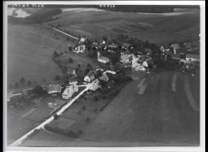 ZZ-4685/ Burgfelden b. Albstadt Foto seltenes Luftbild 1938 18 x 13 cm