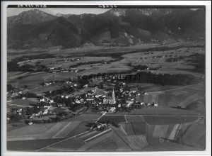 ZZ-4748/ Übersee Foto seltenes Luftbild 1938 18 x 13 cm