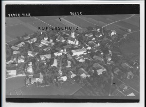 ZZ-4760/ Vogtareuth Foto seltenes Luftbild ca.1938 18 x 13 cm