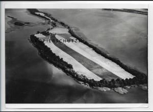 ZZ-4777/ Lieps bei Hohenzieritz Foto seltenes Luftbild 1939 18 x 13 cm